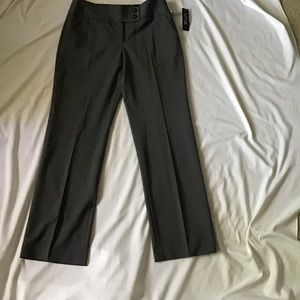 Apt 9 Size 10 Average Maxwell Dress Pants Gray